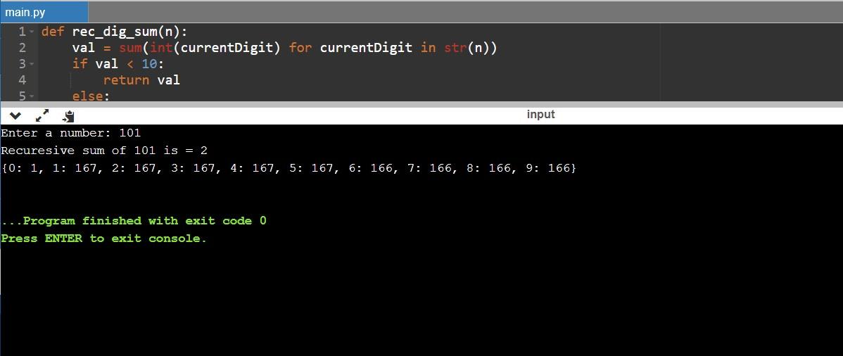 rec_dig_sum python 3