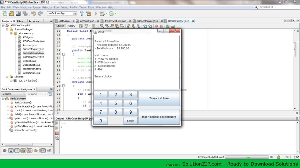 ATM Case Study GUI 1
