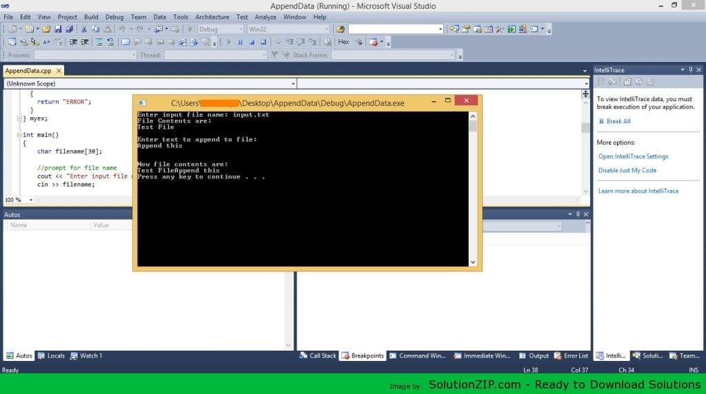 AppendData and CountOccurence_File 1