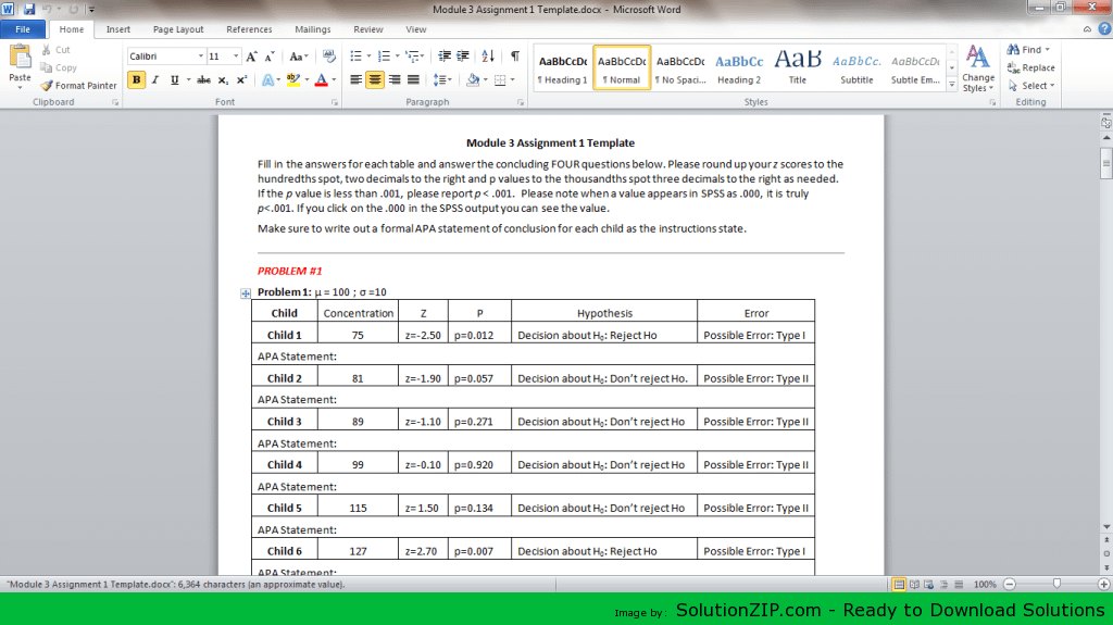 Module 3 Assignment 1 1