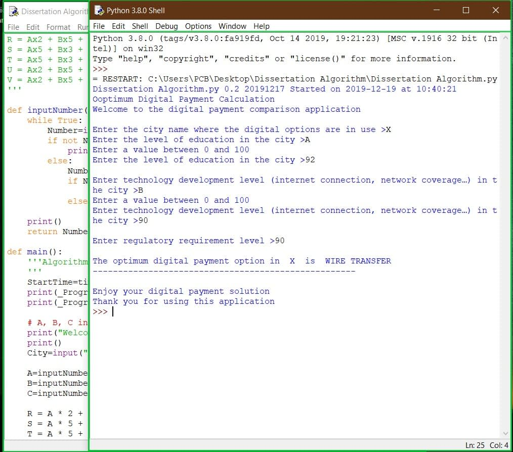 Dissertation Algorithm 3