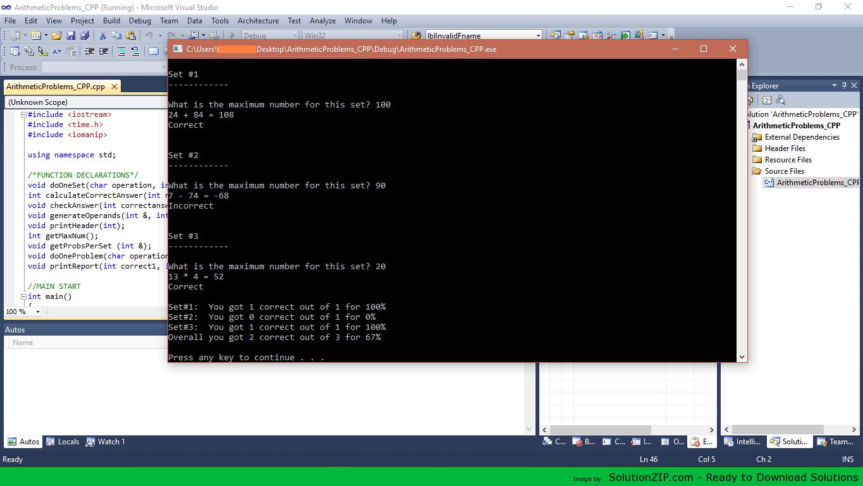 ArithmeticProblems 1