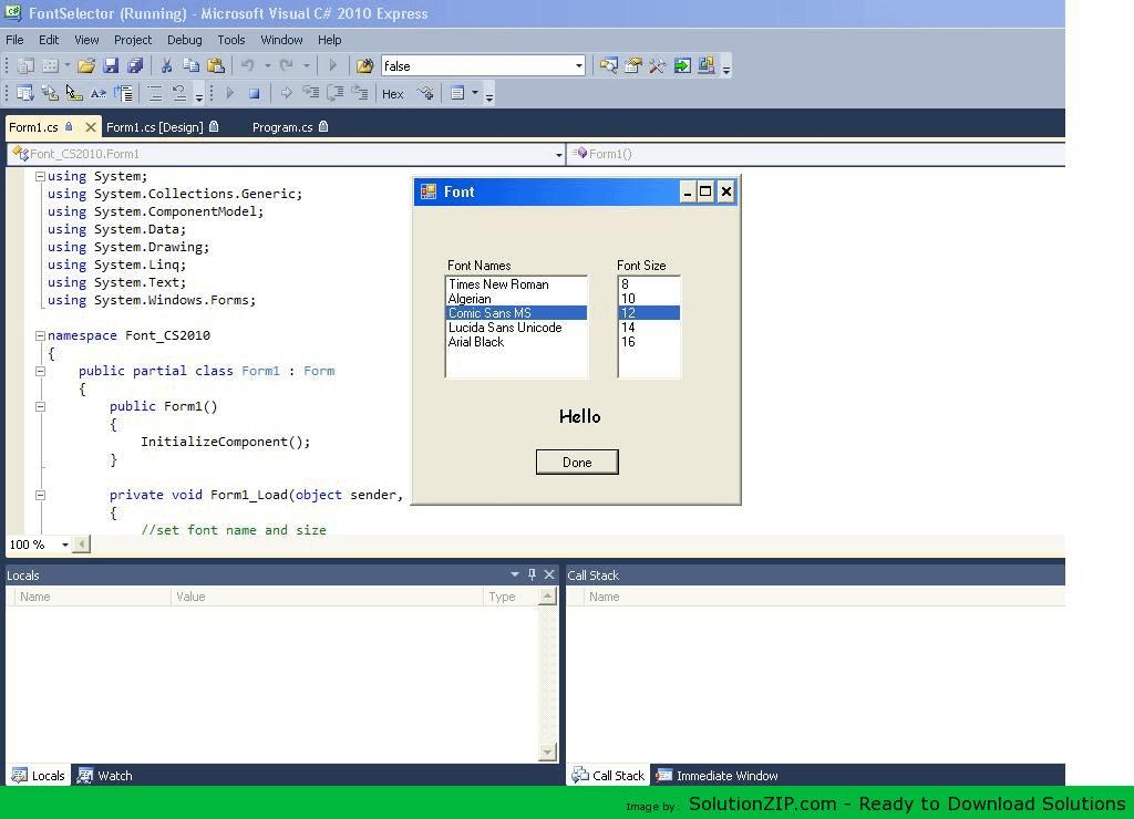 Font Selector 3