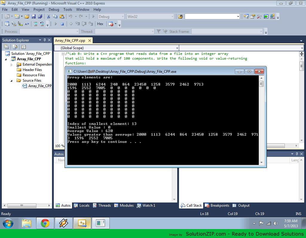 Array File 1