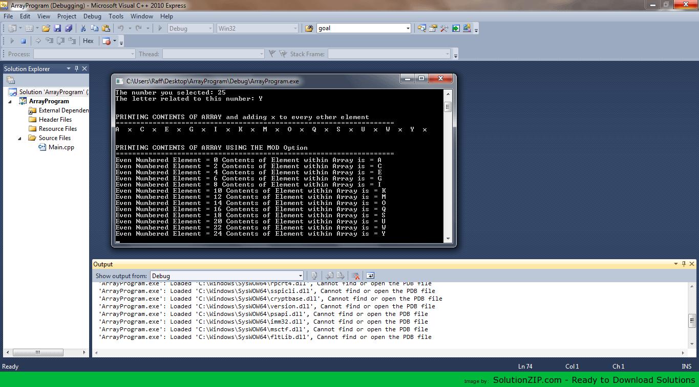 ArrayProgram 1