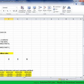 MGT 325 Module 6 Spreadsheet Part A B C