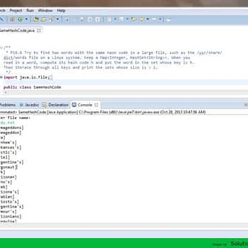 Same Hash Code