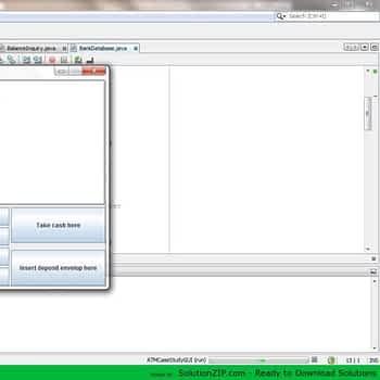 ATM Case Study GUI