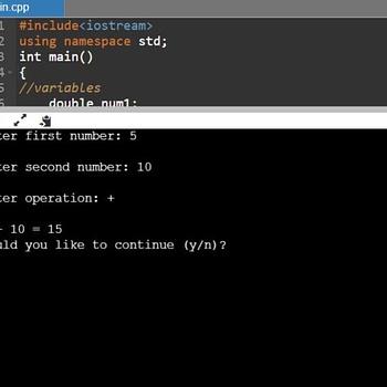 Calculator C++ 9