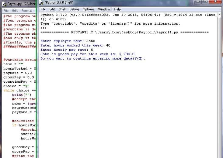 Payroll-Python