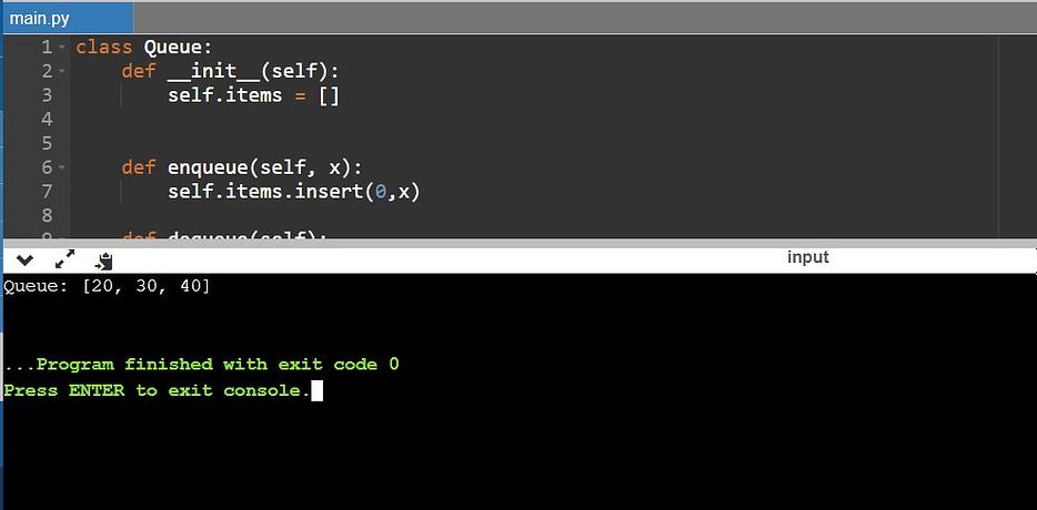 Queue Python 1