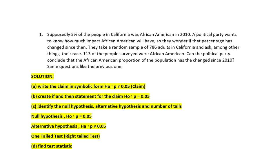 Supposedly 5% of the people in California 10